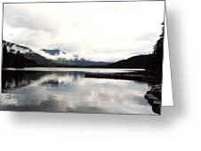 Whistler Lake Bc Greeting Card