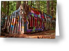 Whistler Train Wreck Greeting Card