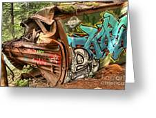 Whistler Train Wreck Stopping Point Greeting Card