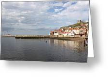 Whitby Abbey N.e Yorkshire Greeting Card