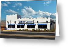 White Castle Greeting Card by Bruce Lennon