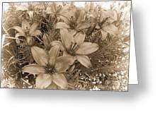 White Chocolate Greeting Card