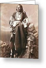 White Eagle Ponca Chief Greeting Card