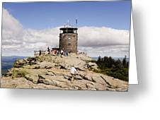 White Face Lookout Greeting Card
