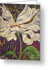 White Flower Series 6 Greeting Card