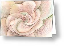 White Gardenia 1 Greeting Card by Anna Skaradzinska