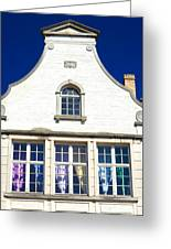 White House In Bruges Greeting Card