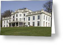 White House In Sonsbeek Park In Arnhem Netherlands Greeting Card