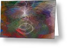 White Lightning - Square Version Greeting Card