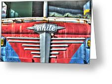 White Motor Company Highway Post Office U. S. Mail No 1 Greeting Card