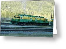 White Pass Railroad 2 Greeting Card