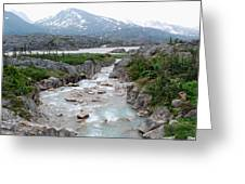 White Pass Greeting Card by Terence Davis