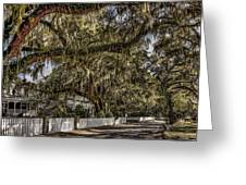 White Picket Fences Greeting Card
