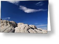 White Pocket In The Vermillion Cliffs Greeting Card