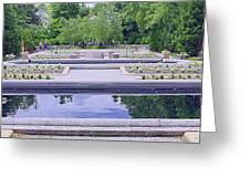 White River Gardens Greeting Card