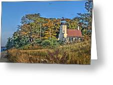 White River Lighthouse Greeting Card