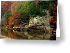 White Rock River Greeting Card