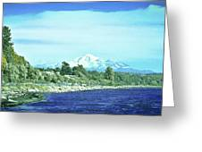 White Rock To Baker Greeting Card