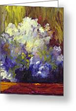 White Roses In Sunlight Greeting Card