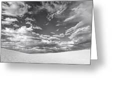 White Sands Drama Greeting Card