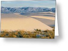 White Sands Morning #1 - New Mexico Greeting Card