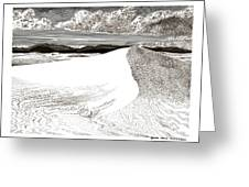 White Sands New Mexico Greeting Card by Jack Pumphrey