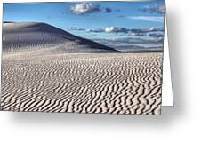 White Sands Patterns Greeting Card