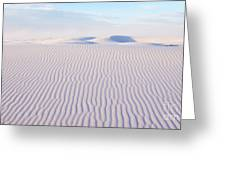 White Sands Serenity Greeting Card
