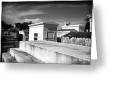 White Tombs Greeting Card by John Rizzuto