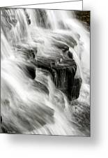 White Water Falls Greeting Card