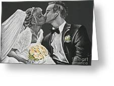 White Wedding Greeting Card