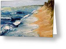 Whitecaps On Lake Michigan 3.0 Greeting Card
