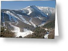 Whiteface Ski Mountain In Upstate New York Near Lake Placid Greeting Card by Brendan Reals