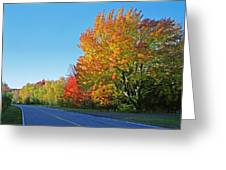 Whitefish Bay Scenic Byway Greeting Card