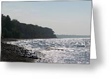 Whitefish Bay Shoreline Greeting Card