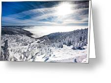 Whitefish Inversion Greeting Card