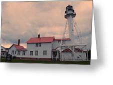 Whitefish Point Light Greeting Card
