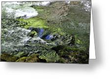 Whitehorse Falls Series 4 Greeting Card
