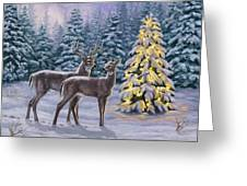 Whitetail Christmas Greeting Card