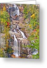 Whitewater Falls Vertical Greeting Card