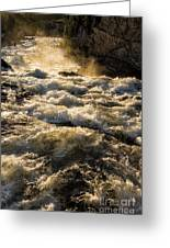 Whitewater Greeting Card