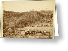Whitewood Canyon, Wade And Jones R.r. Camp Greeting Card