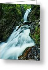 Waterfall - Whiting Downrush Greeting Card