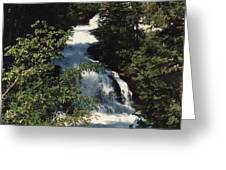 Whitney Falls Greeting Card