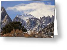 Whitney Portal - California Greeting Card
