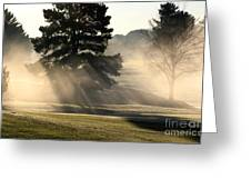 Whittle Springs Golf Course Greeting Card