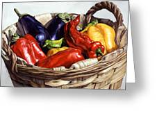 Who Wants To Blister The Peppers Greeting Card