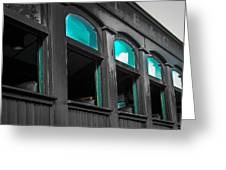 Who Will Ride This Train Today Greeting Card