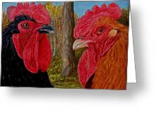 Who You Calling Chicken Greeting Card
