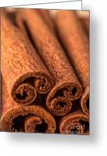 Whole Cinnamon Sticks  Greeting Card